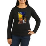 Cafe / Eng Springer Women's Long Sleeve Dark T-Shi