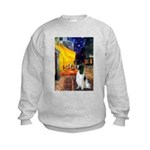 Cafe / Eng Springer Kids Sweatshirt