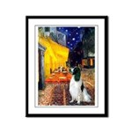Cafe / Eng Springer Framed Panel Print