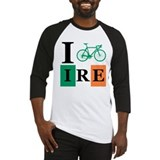 I Bike Ireland Baseball Jersey