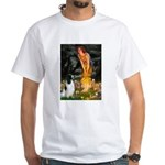 Fairies / Eng Springer White T-Shirt