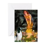 Fairies / Eng Springer Greeting Cards (Pk of 10)
