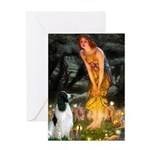 Fairies / Eng Springer Greeting Card