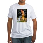 Fairies / Eng Springer Fitted T-Shirt