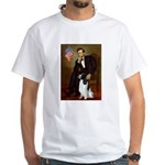 Lincoln / Eng Springer White T-Shirt