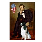 Lincoln / Eng Springer Postcards (Package of 8)