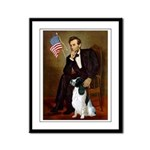 Lincoln / Eng Springer Framed Panel Print