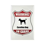 Yaller On Guard Rectangle Magnet (100 pack)