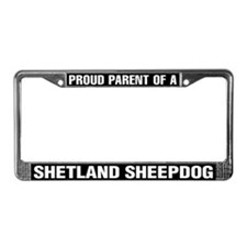 Shetland Sheepdog License Plate Frame
