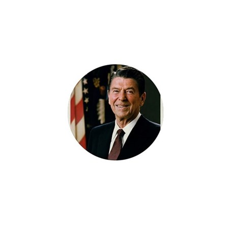 President Reagan Mini Button