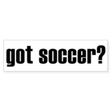 got soccer? Bumper Bumper Sticker