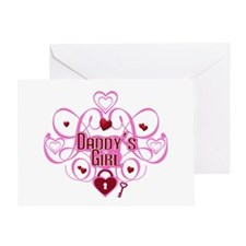 Pink - Daddy's Girl Greeting Card