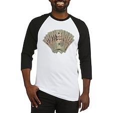 Dollar Bill Spread Baseball Jersey