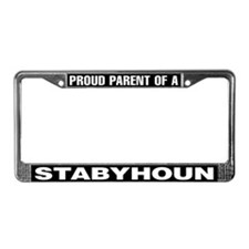 Proud Parent of a Stabyhoun License Plate Frame