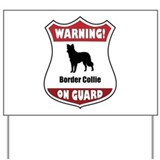 Border collie Yard Signs