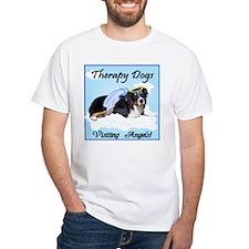 Aussie Therapy Dog Shirt