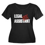 Off Duty Legal Assistant Women's Plus Size Scoop N