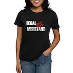 Off Duty Legal Assistant Women's Dark T-Shirt