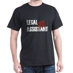 Off Duty Legal Assistant Dark T-Shirt