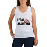 Off Duty Legal Assistant Women's Tank Top
