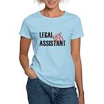 Off Duty Legal Assistant Women's Light T-Shirt