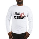 Off Duty Legal Assistant Long Sleeve T-Shirt