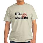 Off Duty Legal Assistant Light T-Shirt