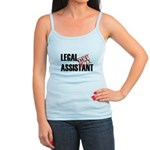 Off Duty Legal Assistant Jr. Spaghetti Tank