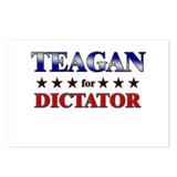 TEAGAN for dictator Postcards (Package of 8)