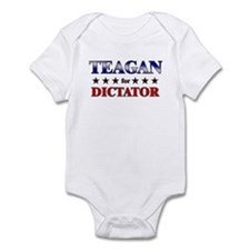 TEAGAN for dictator Onesie