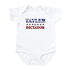 TAYLER for dictator Infant Bodysuit