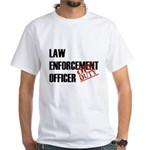 Off Duty Law Enf. Off. White T-Shirt