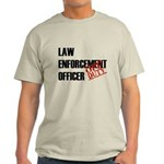 Off Duty Law Enf. Off. Light T-Shirt