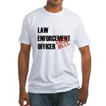 Off Duty Law Enf. Off. Fitted T-Shirt