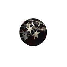 Season's Greetings - Stars Mini Button