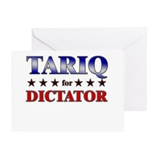 TARIQ for dictator Greeting Card