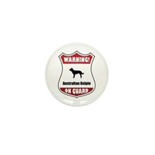 Kelpie On Guard Mini Button (100 pack)