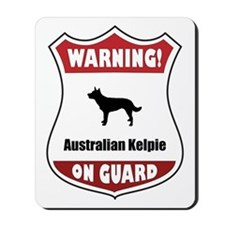 Kelpie On Guard Mousepad