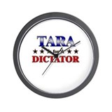 TARA for dictator Wall Clock