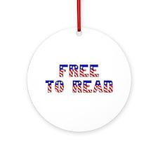 Free to Read<br> Keepsake (Round)