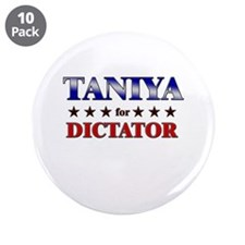 "TANIYA for dictator 3.5"" Button (10 pack)"