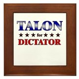 TALON for dictator Framed Tile