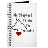 My Shepherd Thinks... Journal