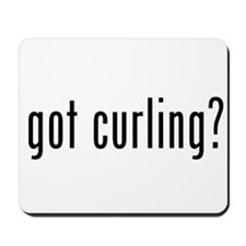 got curling? Mousepad