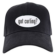 got curling? Baseball Hat