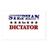 STEPHAN for dictator Postcards (Package of 8)