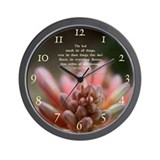 Bud Wall Clock