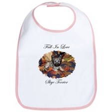Skye Terrier - Fall In Love Bib