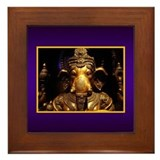 Ganesha Framed Tile