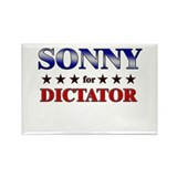 SONNY for dictator Rectangle Magnet